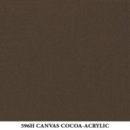 596H-CANVAS-COCOA-ACRYLIC