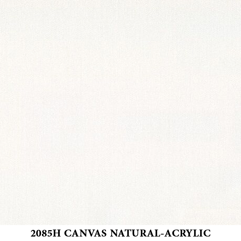 2085H Canvas Natural White-Acrylic