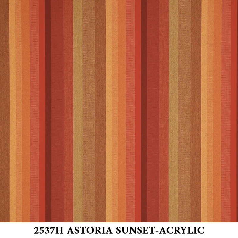 2537H Astoria Sunset Stripe-Acrylic