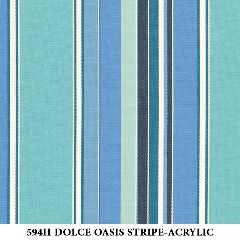 594H Dolce Oasis Stripe-Acrylic