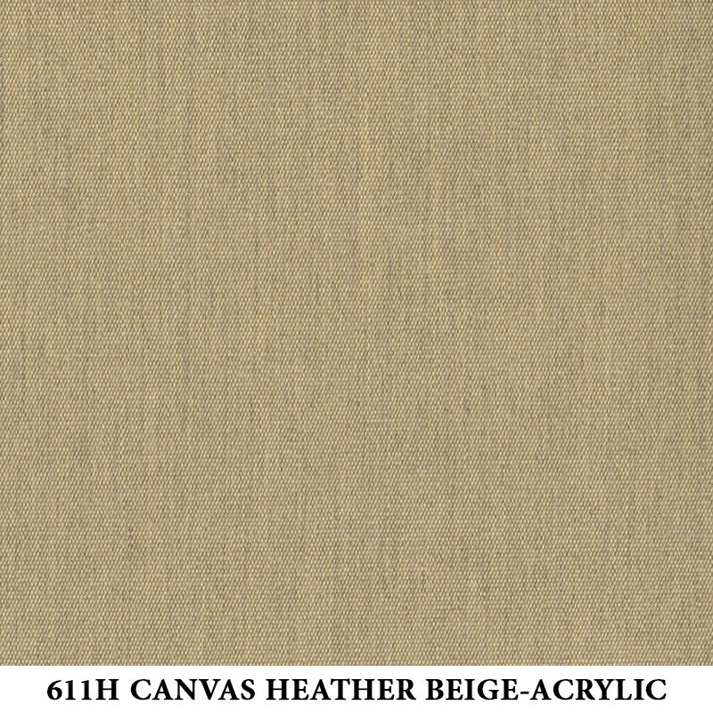 611H Canvas Heather Beige-Acrylic