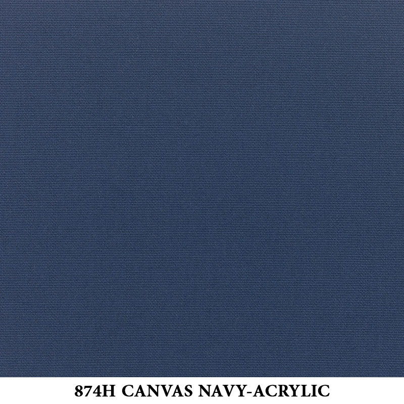 874H Canvas Navy-Acrylic