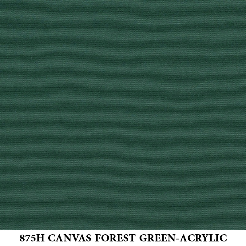 875H Canvas Forest Green-Acrylic