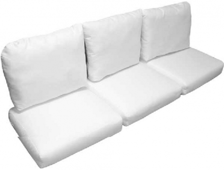 Deluxe Wicker Sofa Replacement Cushion Set