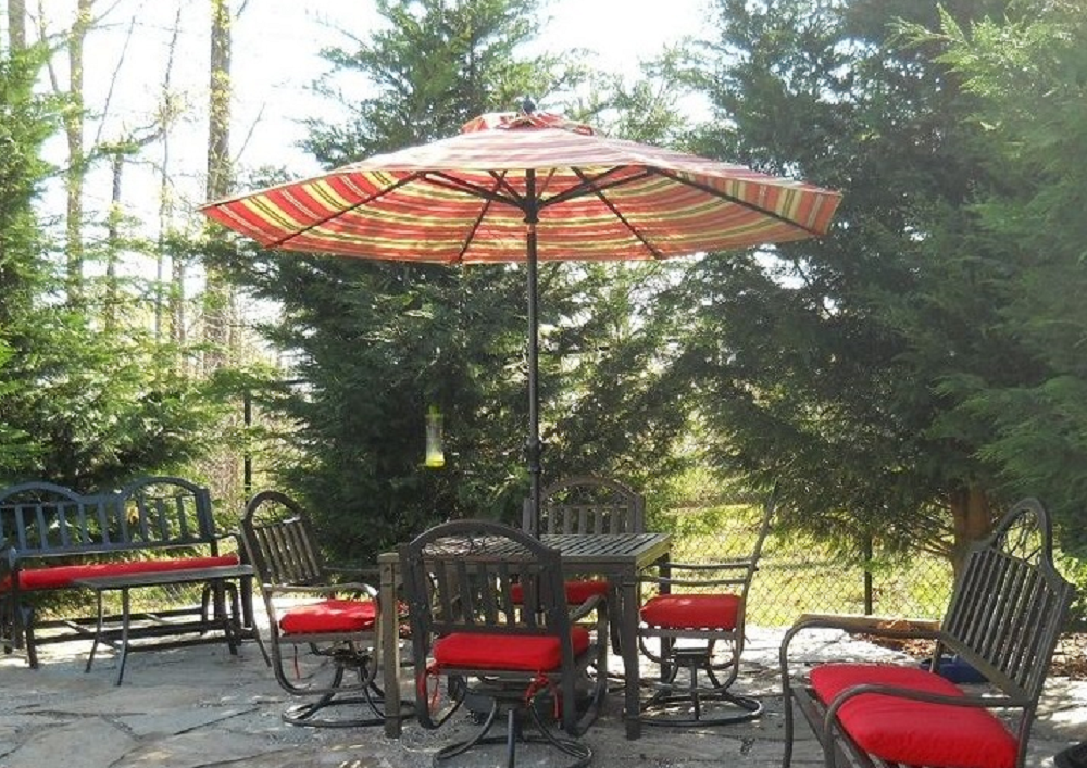 Matching Patio Furniture Umbrella