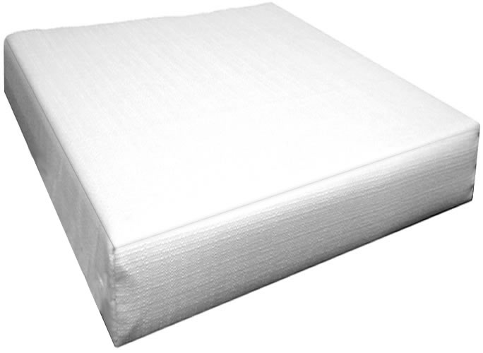 Ottoman Cushions Box Edge (14 Sizes) (Size: 17x20 without Ties)