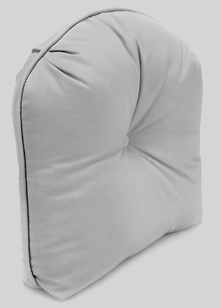 Tucked Corner Curved Back Cushion (Size: 20x20x5)