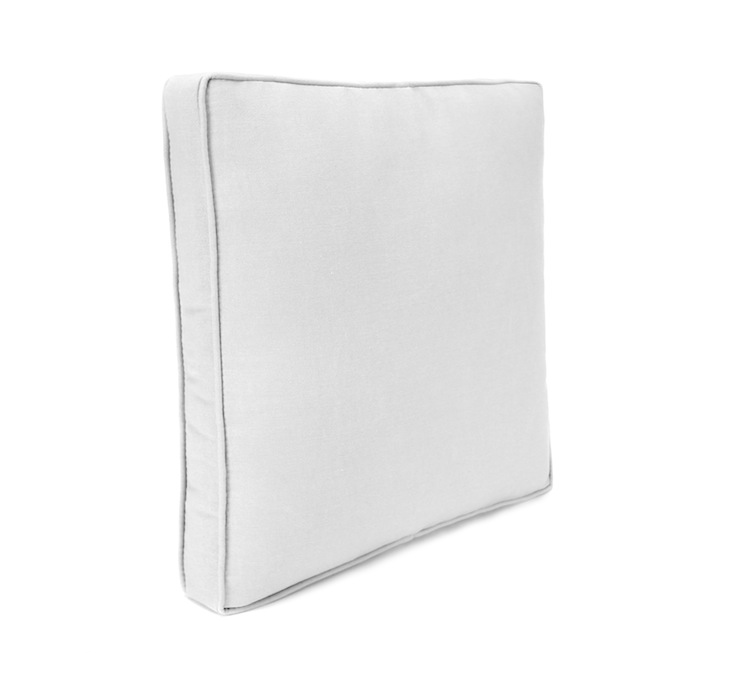 Boxed Edge Square Toss Pillow (Available Sizes (BESTP): 14 Inch)